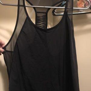 Black mesh tank